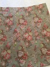 Retired Ralph Lauren Charlotte IV Green Floral Standard Pillowcases 2 VGUC