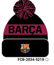 FC Barcelona Pom Beanie/toque oficialmente licenciado Fi Collection