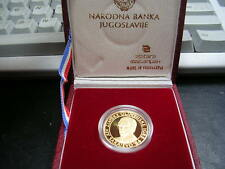 1984 SARAJEVO YUGOSLAVIA WINTER OLYMPIC PROOF GOLD
