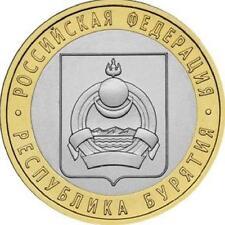 RUSIA RUSSIA 2011. 10 RUBLOS UNC SC. BURYATIYA