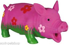 NEW Latex Pig Dog Toy 35185
