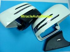 ARROW LED WHITE DOOR MIRROR COVERS 2012-2017 MERCEDES BENZ W166 ML & X166 GL
