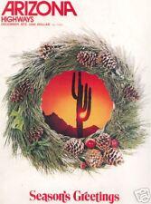 ARIZONA HIGHWAYS ~ December 1976 ~ The Peaceful Land