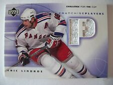 2002 UPPER DECK CHALLENGE FOR THE CUP FRANCHISE PLAYERS ERIC LINDROS FP-EL  B52