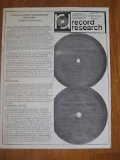 1968 World Broadcasting System record Mason Dixon Weidemeyer Frankie Trombar vtg
