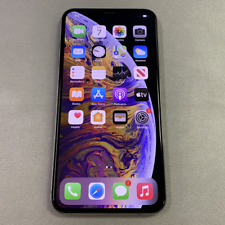 Apple iPhone XS Max - 64GB - Silver (Unlocked) (Read Description) BJ1124
