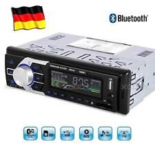 AUTORADIO MP3 PLAYER BLUETOOTH 1DIN FREISPRECH-EINRICHTUNG USB SD AUX REMOTE DE