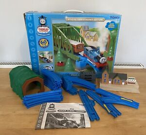 Tomy Thomas and Friends Steam Along Thomas Set Special 60th Anniversary Edition
