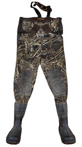 Men's Cabelas Northern Flight 1 Strap Hunting Waders Sz 12 Stout