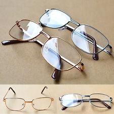 Unisex Men Women Metal Reading Glasses Reader Eyelasses Spectacles 1.0-4.0
