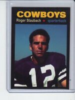 Roger Staubach '61 Dallas Cowboys rookie season MC Glory Days #2