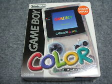 NEW Gameboy Color Clear Console System Japan *100% NEW FOR COLLECTION - GOOD BOX