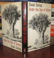 Sontag, Susan UNDER THE SIGN OF SATURN  1st Edition 1st Printing