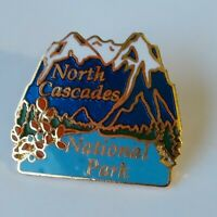 North Cascades National Park Souvenir Lapel Hat Jacket Pin Washington State