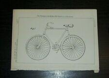 IMPROVEMENTS IN CRANK MECHANISM FOR CYCLES PATENT  VAN DOORNUM APELDOORN 1897
