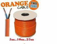 Orange Flex 3182Y 1mm 10A 10 Amp 2 Core Flexible Cable Lawn Mower Strimmer Cable