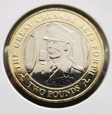 D Day les dirigeants * King George VI * La Grande croisade ensembles Forward 2 LB (environ 0.91 kg) coin uncirc
