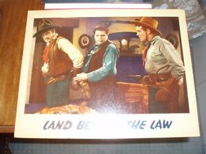 Land Beyond the Law; Dick Foran; 1937