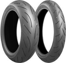 Bridgestone S21 Battlax Hypersport Front & Rear Tires 120/60ZR-17 & 160/60ZR-17