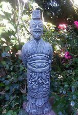Steinfigur Soldat Chinesische Armee 36cm