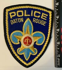 Baton Rouge Louisiana Police Patch