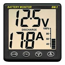 NASA Clipper BM1 24 Battery Monitor - 24 Volt with 5m Cable│For Boats & Marine