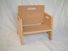 DIY Baby Toddler Chair Personalisable with ANY Text! Perfect Christmas Present!