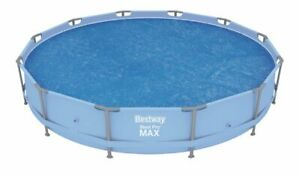 Bestway 12ft Steel Pro and Fast Set Solar Swimming Pool Cover BW58242