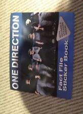 One Direction: Fact File Sticker Book,
