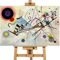 Wassily Kandinsky Composition Viii Canvas Wall Art Picture Print