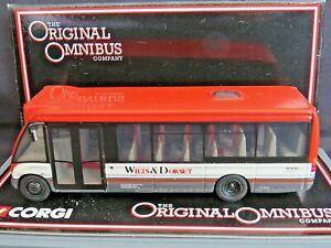 Corgi OOC 44101. Optare Solo. Wilts & Dorset. Boxed. Ltd Ed