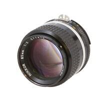 Nikon Nikkor 85mm F/2 AIS Manual Focus Telephoto / Long Lens {52} - UG