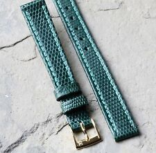 Torneau Genuine Lizard 13mm vintage watch band 1960s/70s NOS exotic skin strap