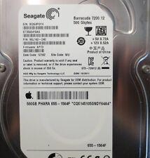 ST3500418AS 9SL142-240 FW:AP73 WU Apple#655-1564F 500gb Sata Hard drive