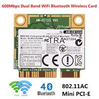 600M BCM94352HMB 802.11AC Dual Band WiFi Bluetooth Mini PCI-E Wireless Wlan Card