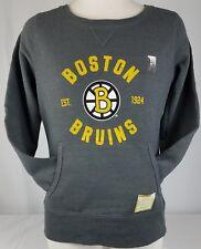 Brand New NHL BOSTON BRUINS Sweat Shirt Pull Over Women's Small
