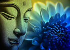 Buddha Peace Zen Canvas Print - Choose your Size