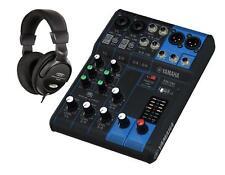Yamaha mg 06 mesa de mezclas analógica mezclador 6-canal consola XLR salida set auriculares