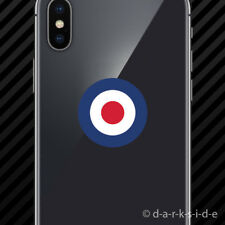 (2x) RAF Roundel Cell Phone Sticker Mobile UK Royal Air Force British
