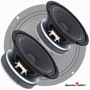 "Pair Peavey 6.5 inch 8ohm 150 watt Pro Audio Woofer Midrange Midbass 1.5"" VC"