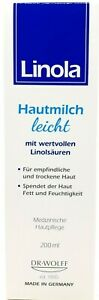 Linola Hautmilch leicht 200ml PZN 11657594