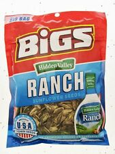 Bigs Hidden Valley Ranch Sunflower Seeds 5.35oz bag Seasoning Snack Food!
