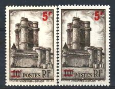 """FRANCE STAMP TIMBRE 491 """" VINCENNES 5F S.10F VARIETE COULEUR """"NEUFS xx LUXE R331"""