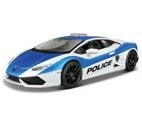 Maisto 1:24 Lamborghini HURACAN LP610-4 Diecast Model Racing Police Car Vehicle