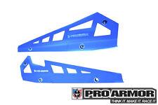 Pro Armor Rock Metal Flat Sliders Blue 14-19 RZR XP1000 XP1K 900S P141221VB