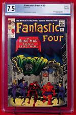 FANTASTIC FOUR #39 (Marvel 1964) PGX 7.5 Very Fine Minus DOOM & DAREDEVIL +CGC!!