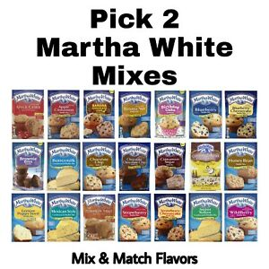 Pick 2 Martha White Cornbread or Muffin Mixes Choose any Flavors