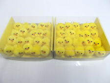 40x Small Easter Chick Decorations