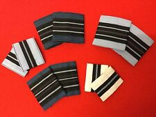RAF Officers Rank Tabs RAF Blue Light Blue RAF Rank Slides Flight Lieutenant