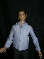 Fits Kinsman, Matt, Jamieshow Men Dolls - Dress Shirt Blue Oxford Cloth